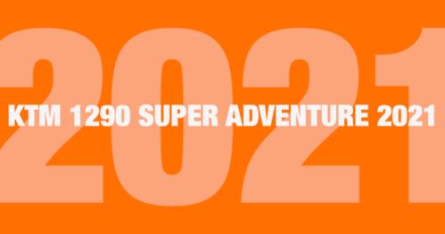 KTM 1290 SUPER ADVENTURE 2021